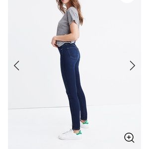 Madewell 10in high rise jeans in Hayes wash